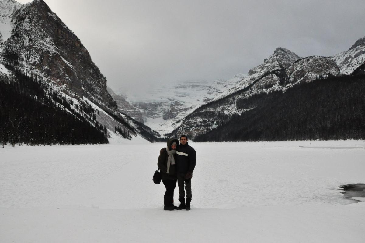 Lake Louise gelé !